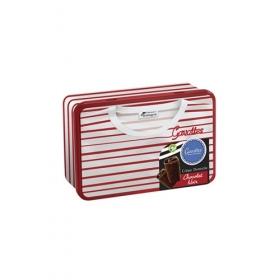 Coffret fer Marin Rouge - Crêpes Dentelle Chocolat Noir