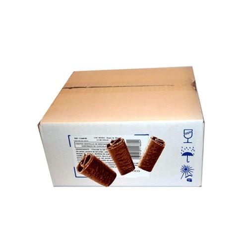 Carton VracCrêpes Dentelleau Chocolat Noir