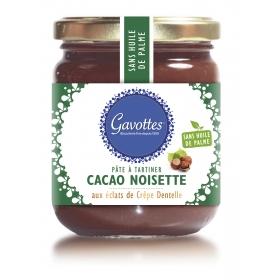 Pâte à Tartiner Cacao Noisettes aux éclats de Crêpes Dentelle