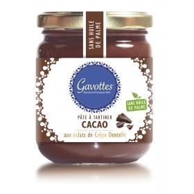 Pâte à Tartiner Cacao aux éclats de Crêpes Dentelle