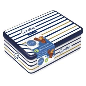 Coffret fer Marin Bleu - Crêpes Dentelle Chocolat au Lait
