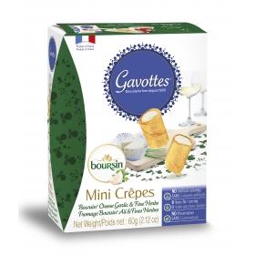 Crêpes Fourrées apéritives Boursin®