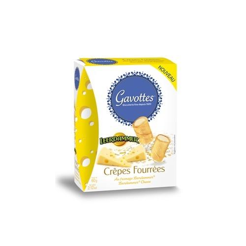 Crêpes Fourrées apéritives au Fromage Leerdammer®