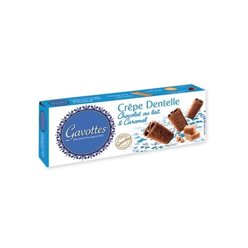 Crêpes Dentelle au Chocolat au Lait et Caramel